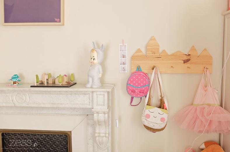 chambre enfant fille vintage lapinandme