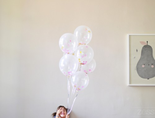ballon confetti anniv