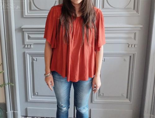 blouse mango