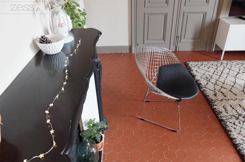 sejour vintage blog deco cheminée