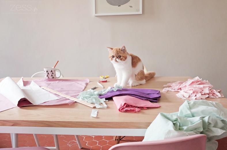 bureau diy couture chat