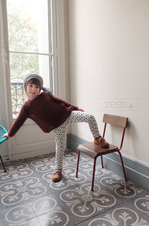 patron knit tricot sweater kid toddler