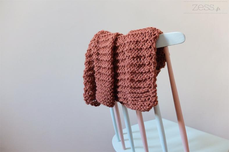 patron tricot enfant facile