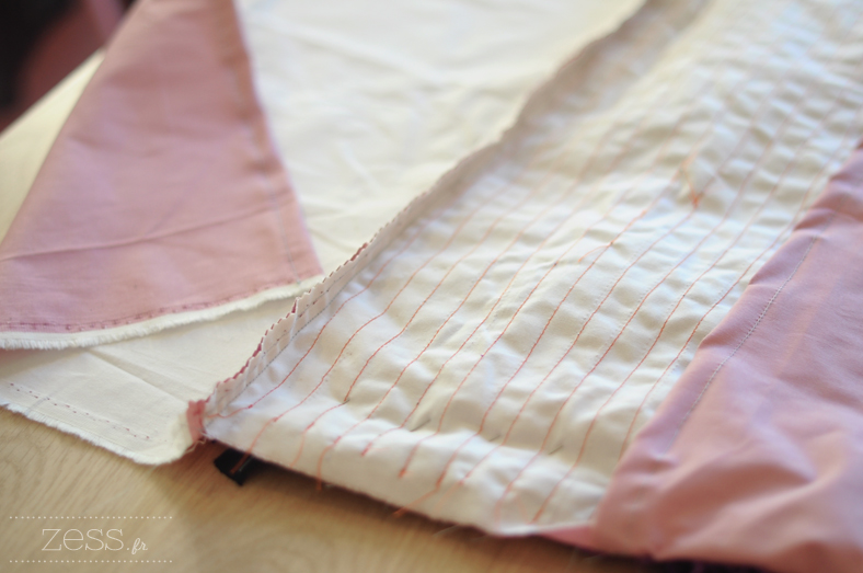 diy couture boucharouette coussin