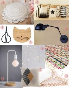 ebay déco scandinave rétro lampe tapis