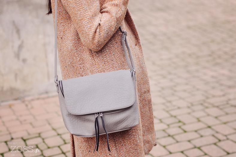 manteau laine zara sac h&m