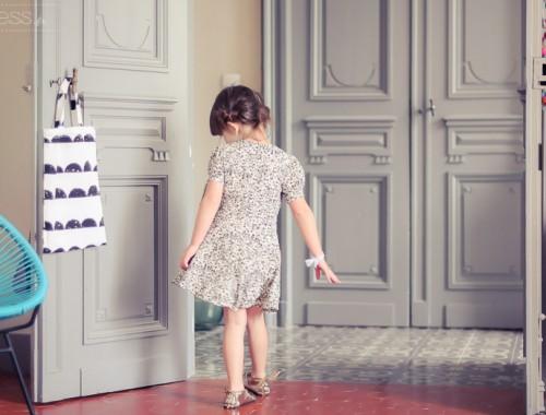cyrillus robe fleurielook enfant