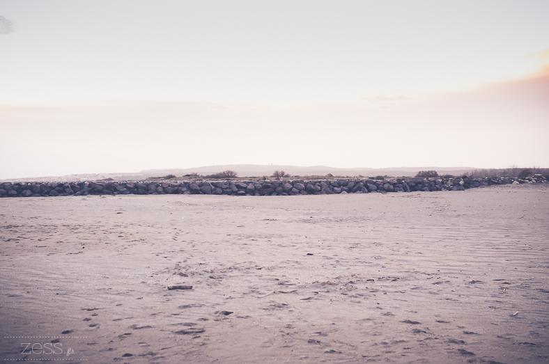 plage hiver