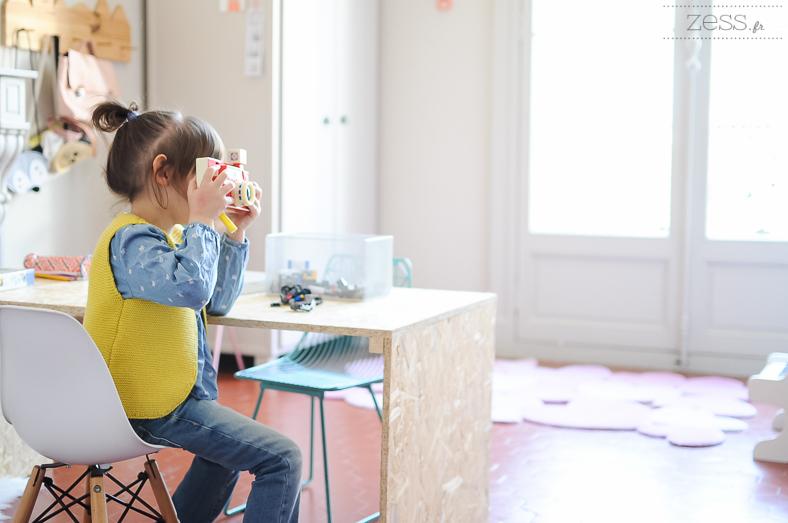 diy bureau chambre enfant