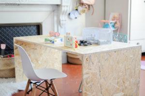 bureau chambre enfant osb
