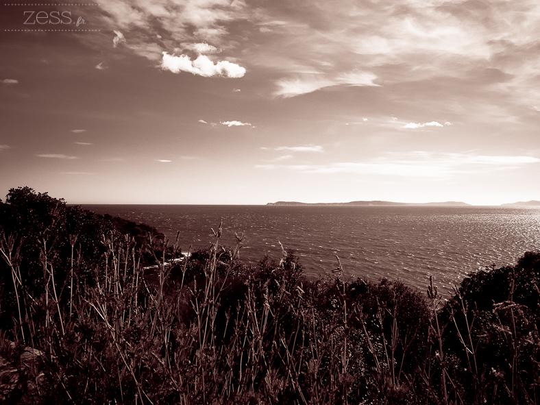 coucher de soleil paysage mer