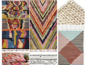 tapis boucherouite berbère