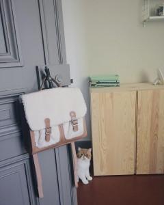 Le petit cartable moumoute chez Zara pour la rentre bonplan