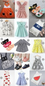 shopping ebay selection enfant fille vêtement