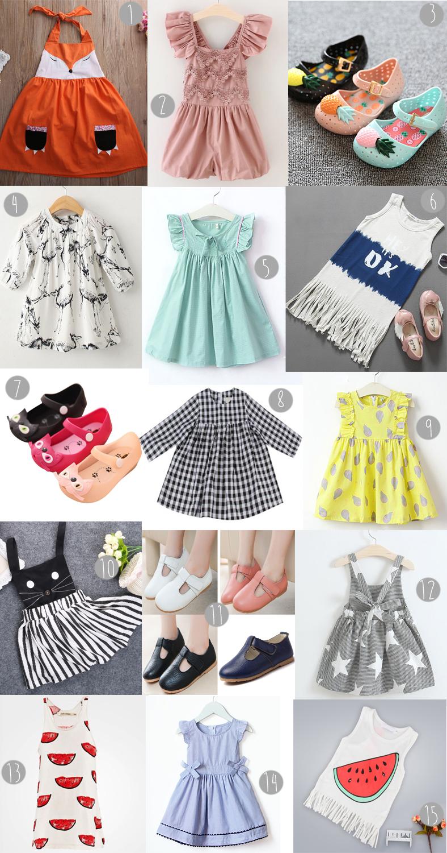 shopping ebay selection enfant fille vêtement