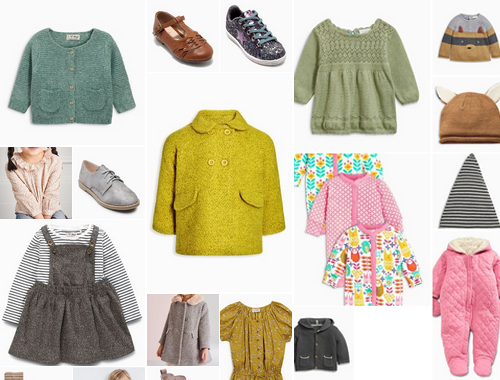 SELECTION SHOPPING NEXT ENFANT