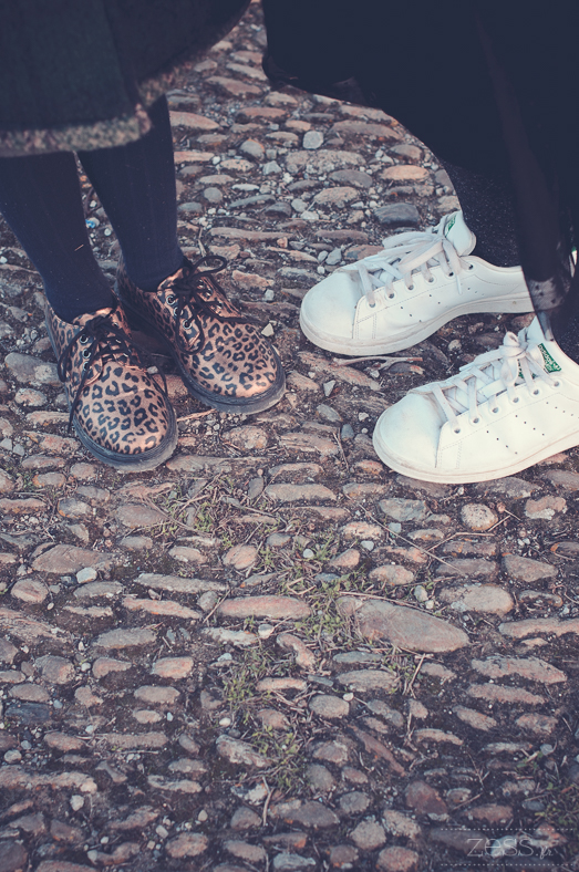 stan smith derbies leopard