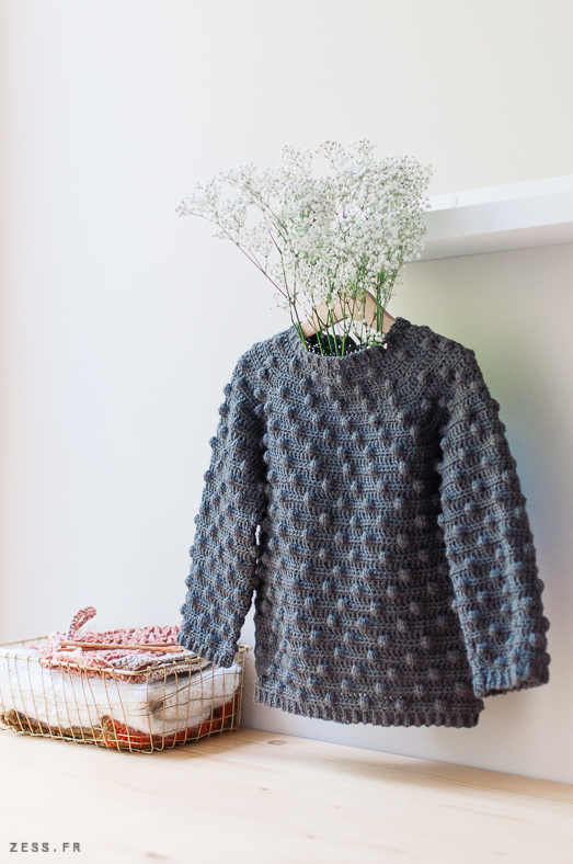 pull nopes crochet enfant