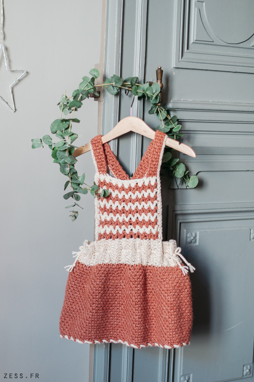 mini dressing au crochet livre