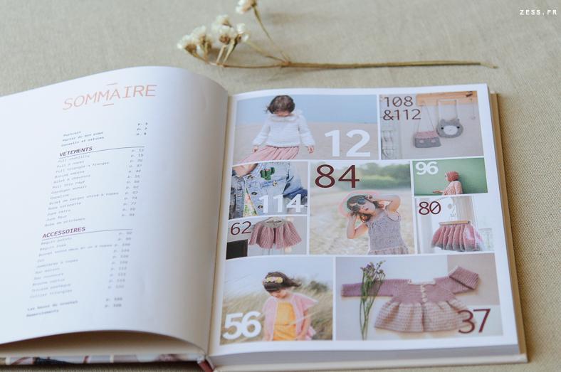 livre mini dressing au crochet pour enfants