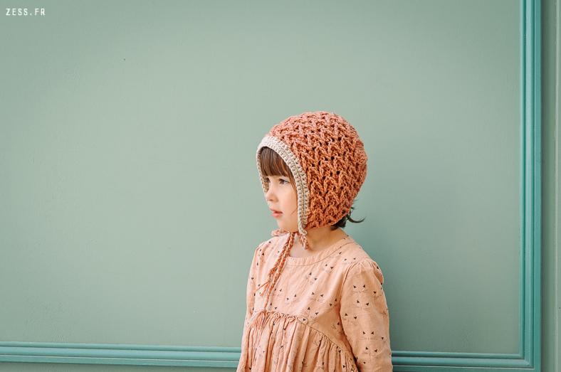 mini dressing au crochet pour enfants beguin