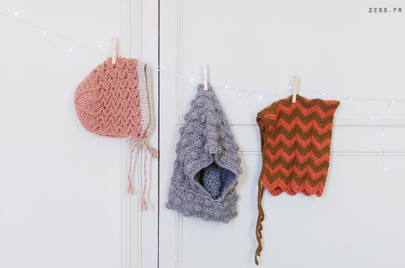 bonnet beguin crochet