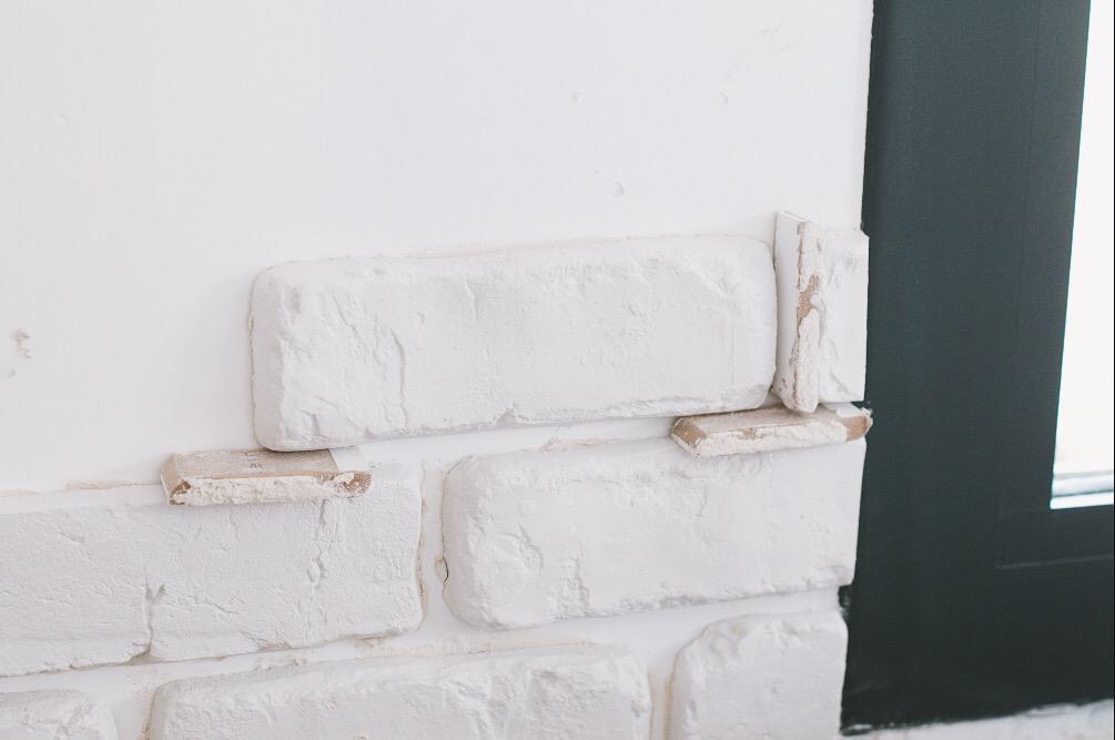 poser brique de parement en platre