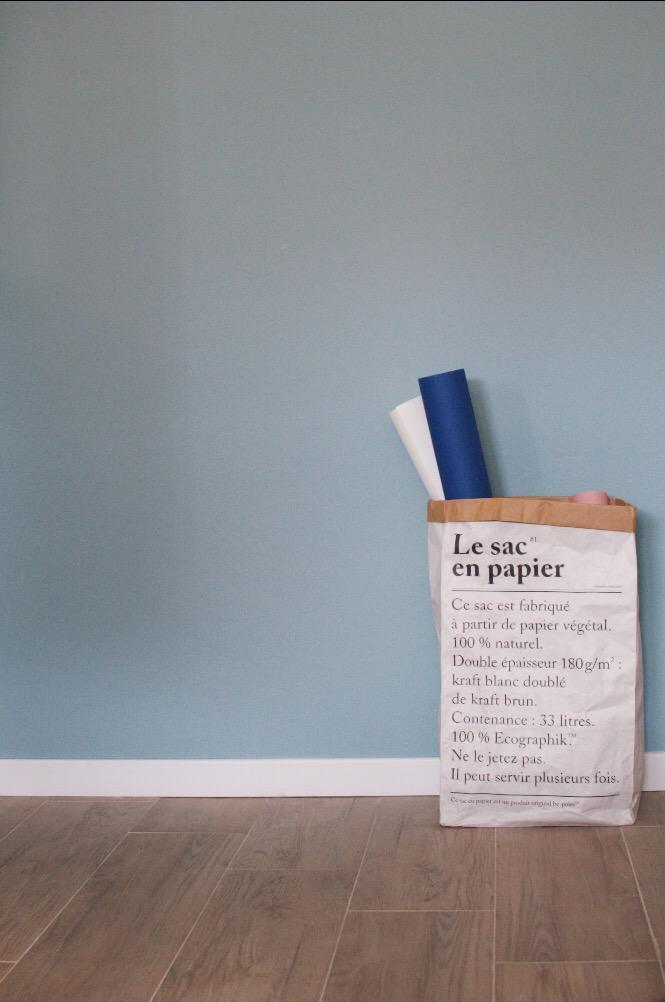peinture mur mint