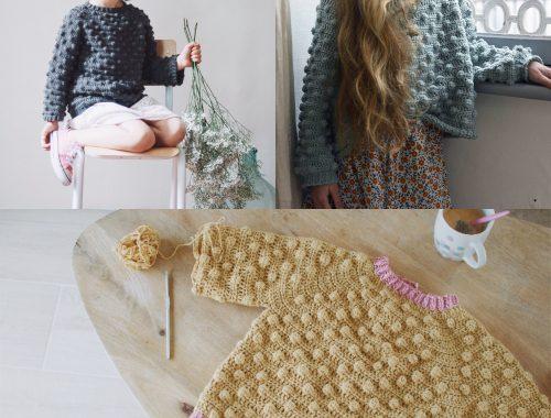 Le pull à nopes (modèle tiré de Mini dressing au crochet pour enfants) 7763416627d2