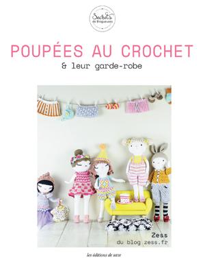 poupées au crochet et leur garde robe livre