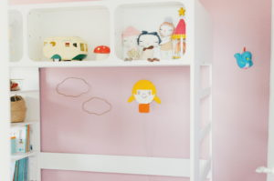 deco girly enfant chambre