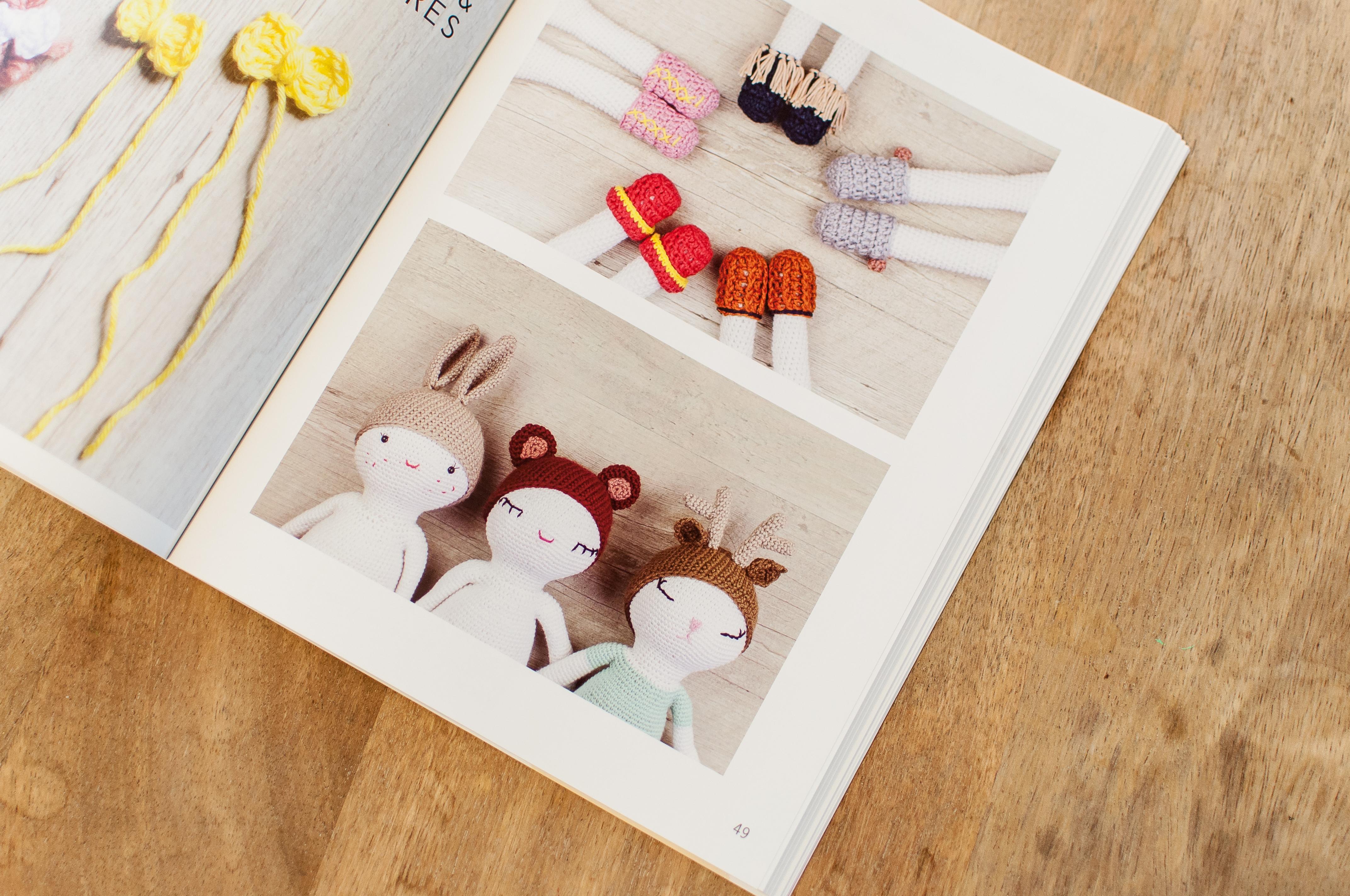 poupée aide couture au crochet tutos