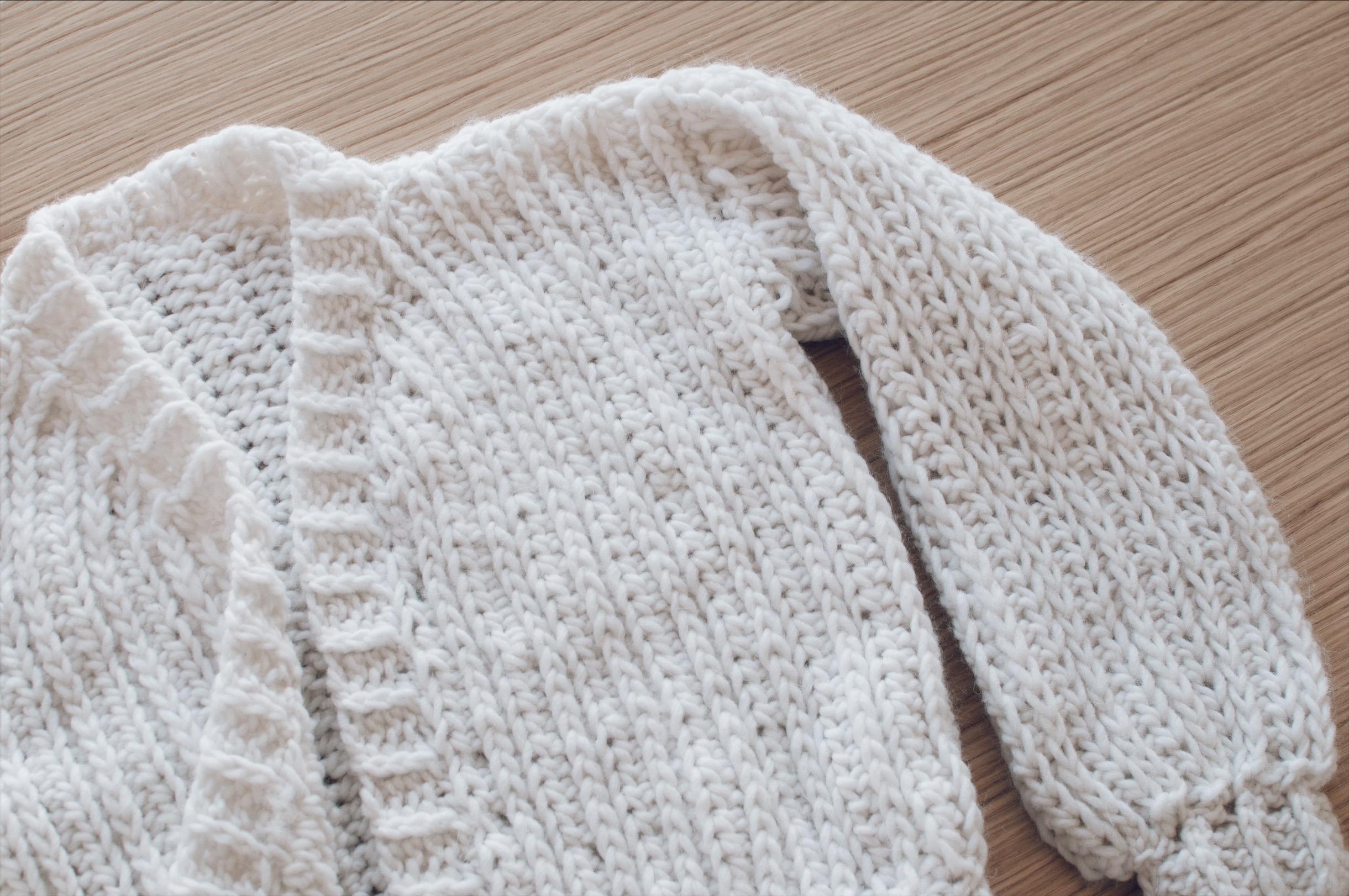 tuto gilet crochet