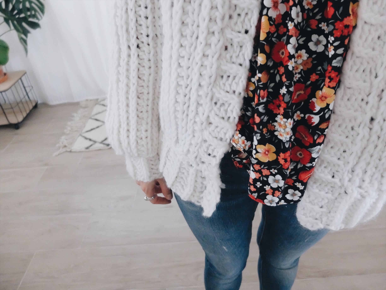gilet crochet brioche stitch tuto