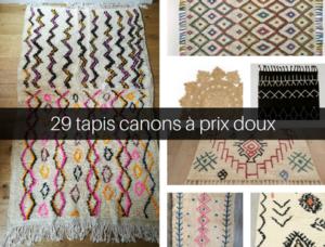 sélection shopping tapis berbères