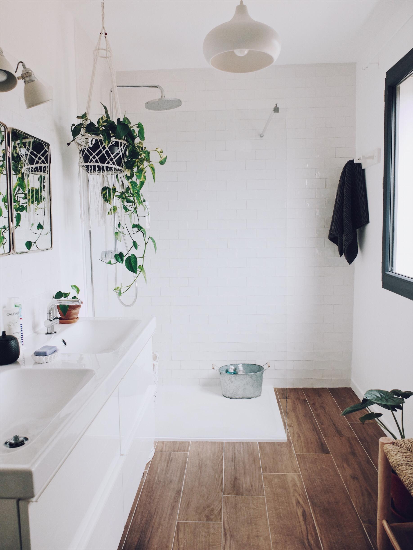 salle de bain bohème maison construction déco