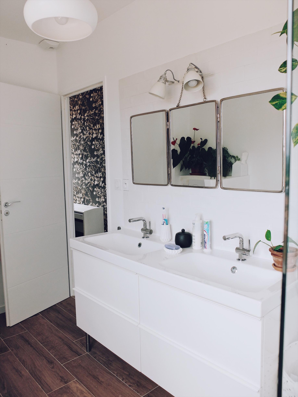 déco salle de bain vintage minimaliste