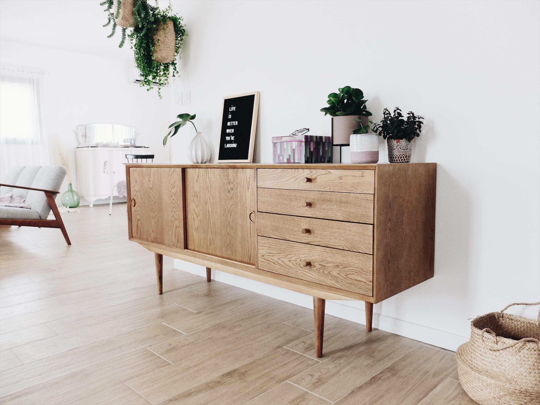 meuble enfilade vintage laredoute