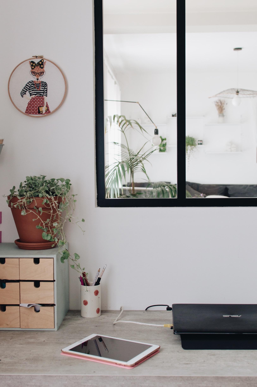 bureau verrière