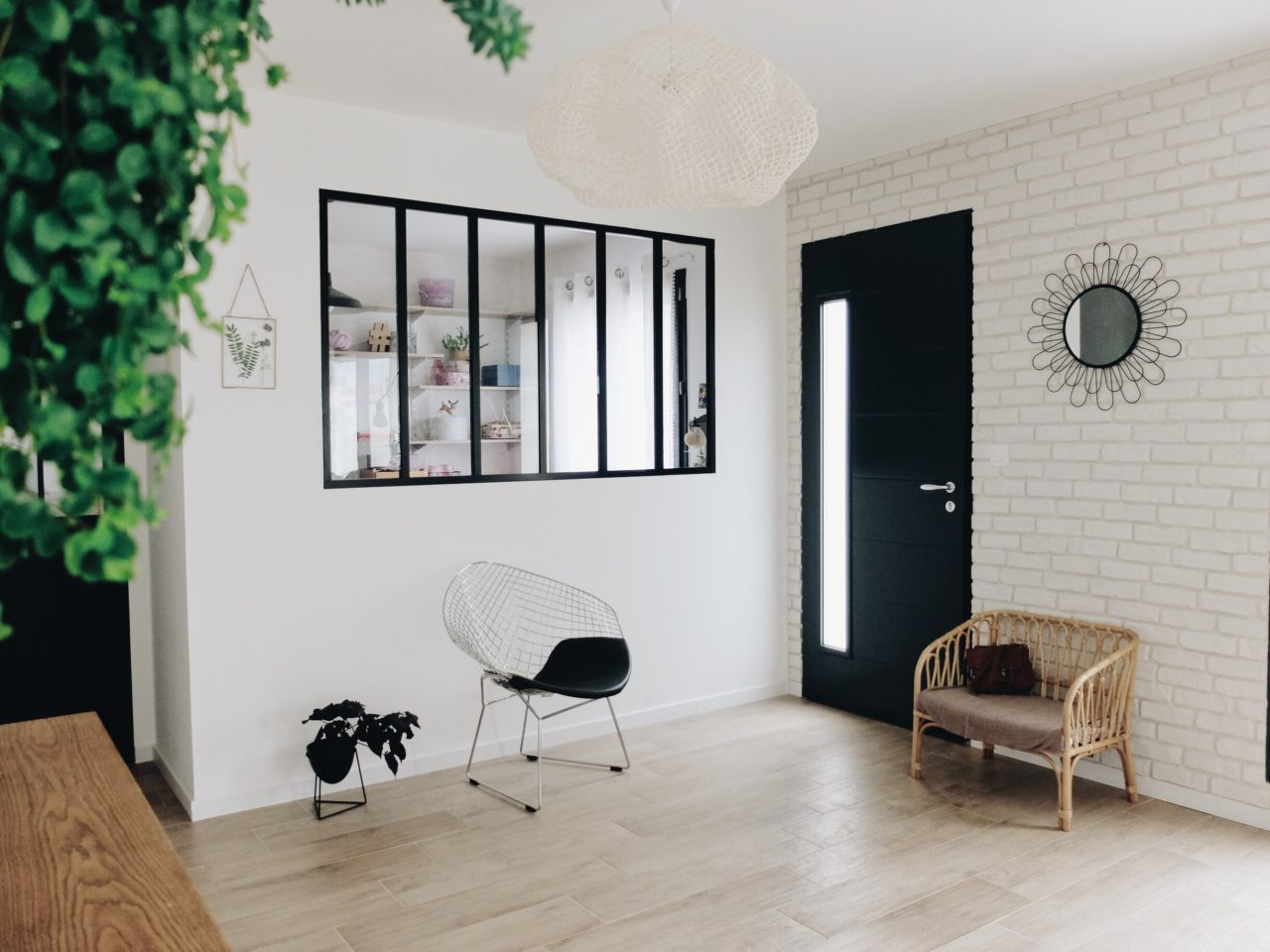 Déco : La verrière et la porte atelier - Zess.fr ...
