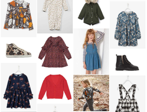 selection shopping fille