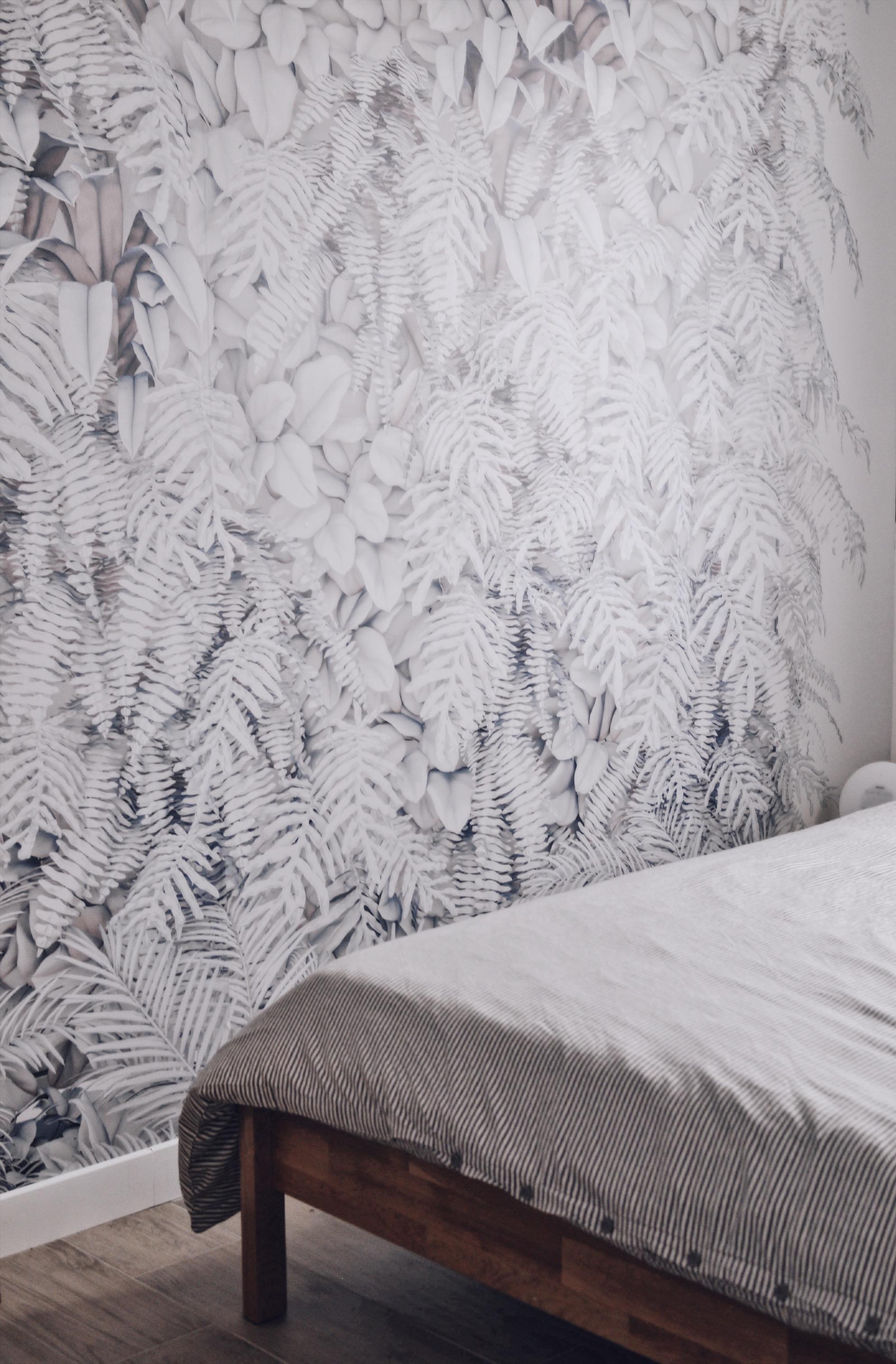 papier peint nature feuilles