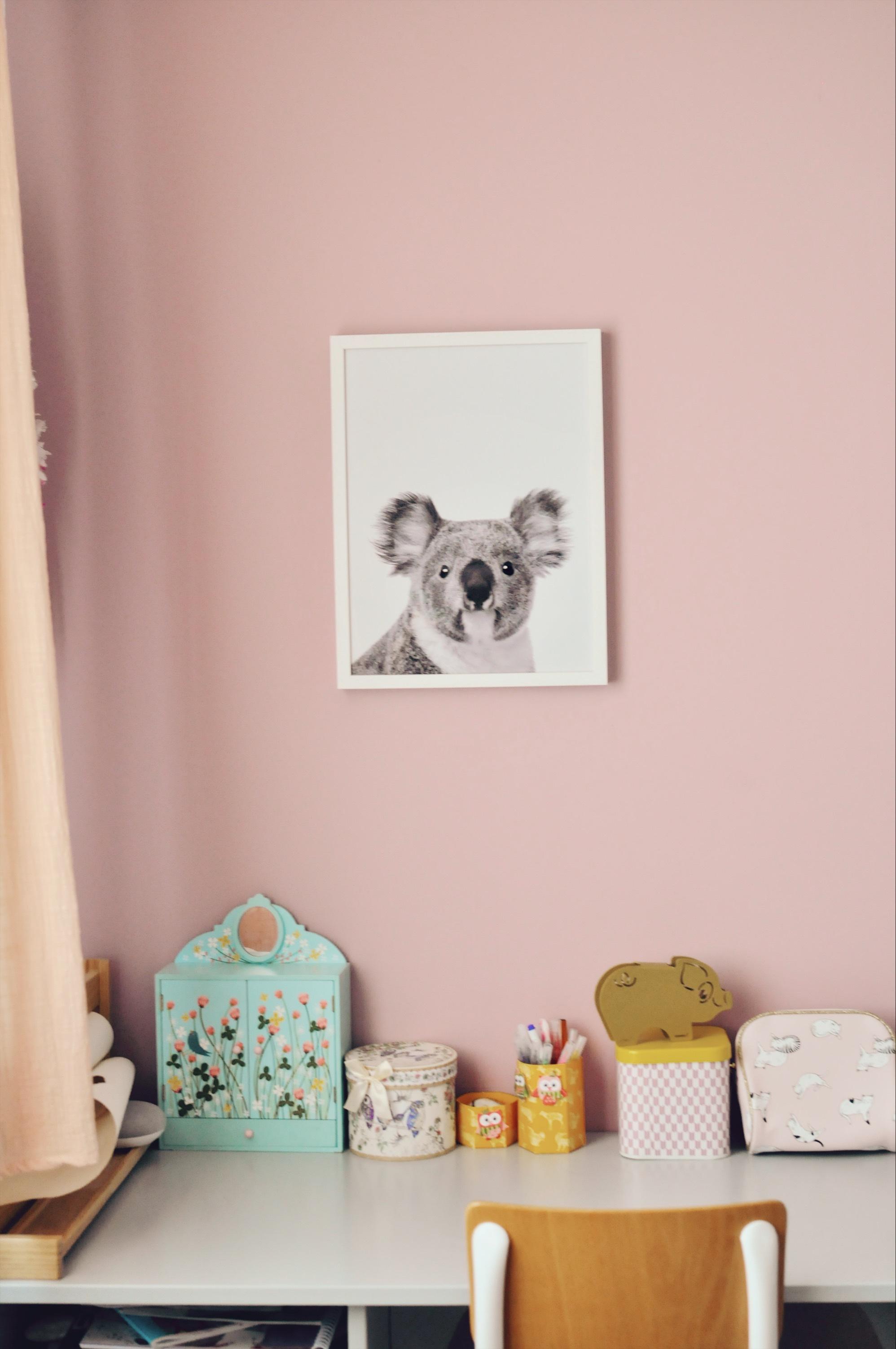 affiche koala chambre d'enfant