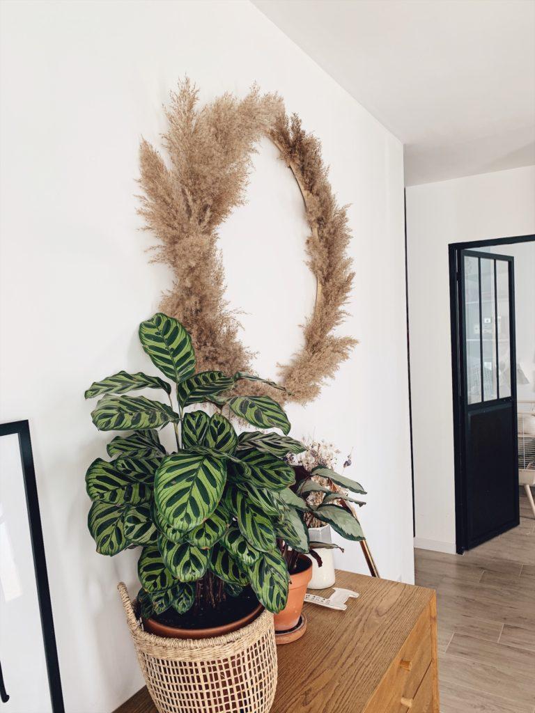 diy la couronne xxl herbes de la pampa lifestyle mode d co maman diy. Black Bedroom Furniture Sets. Home Design Ideas