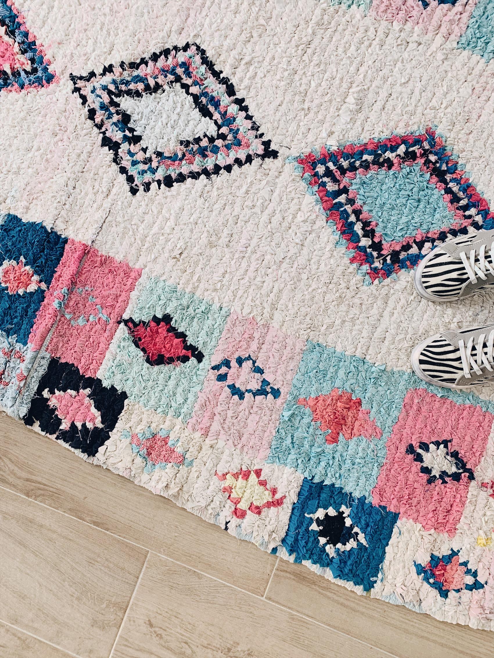 tapis boucherouite deco