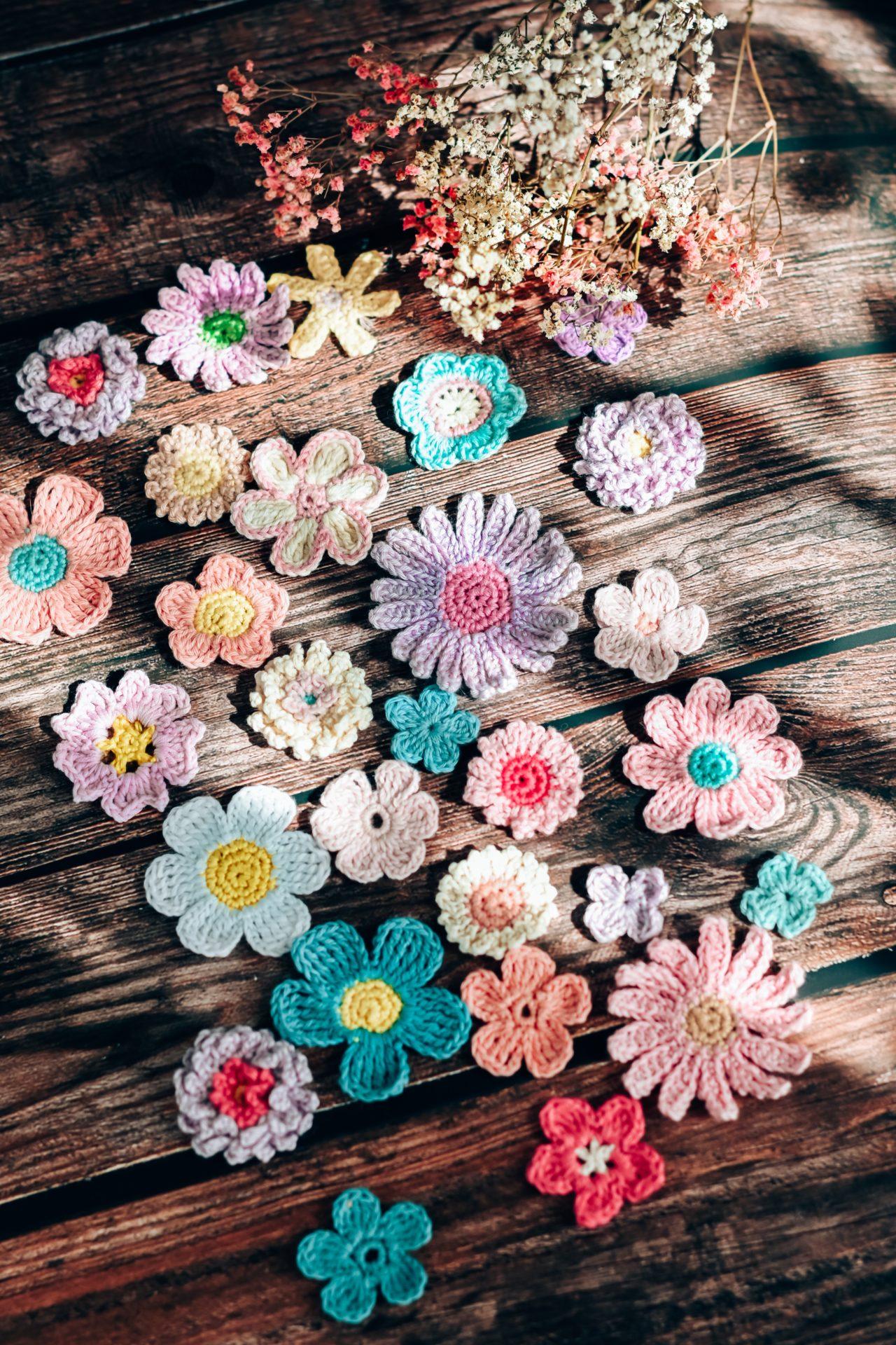 tuto fleur facile crochet