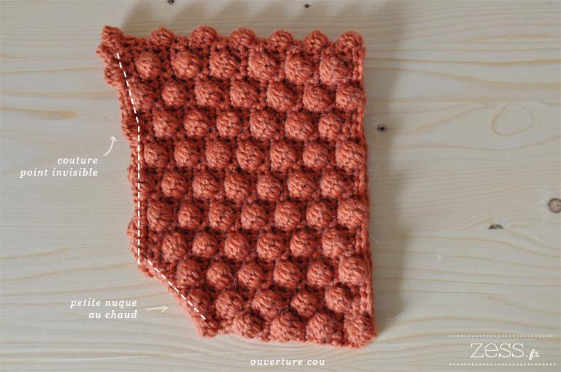 couture ivisible beguin crochet