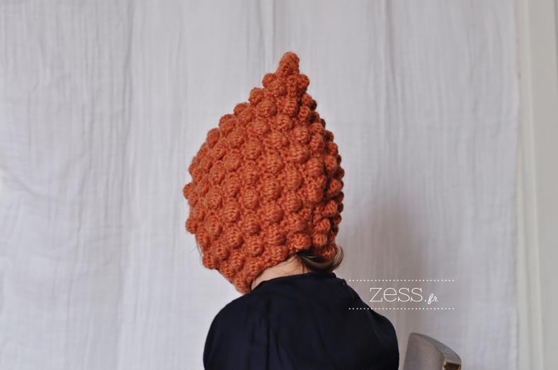 tuto beguin pompon crochet