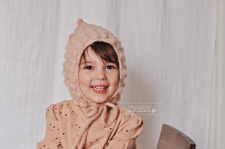 tuto beguin pixie hat crochet kid toddler