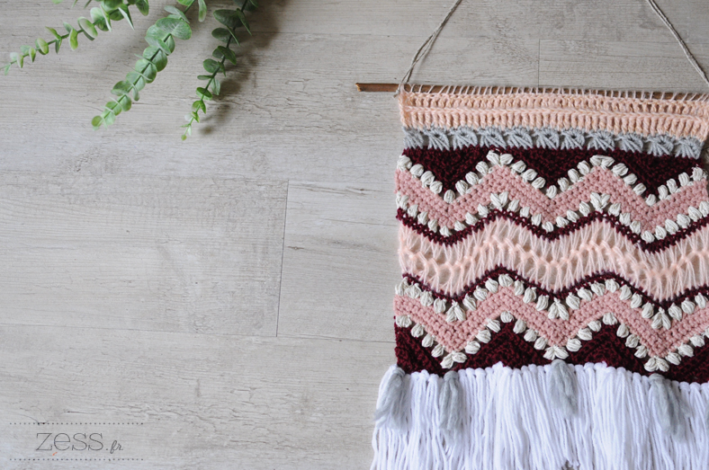 wall hanging crochet
